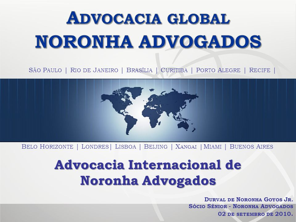 Advocacia Internacional de