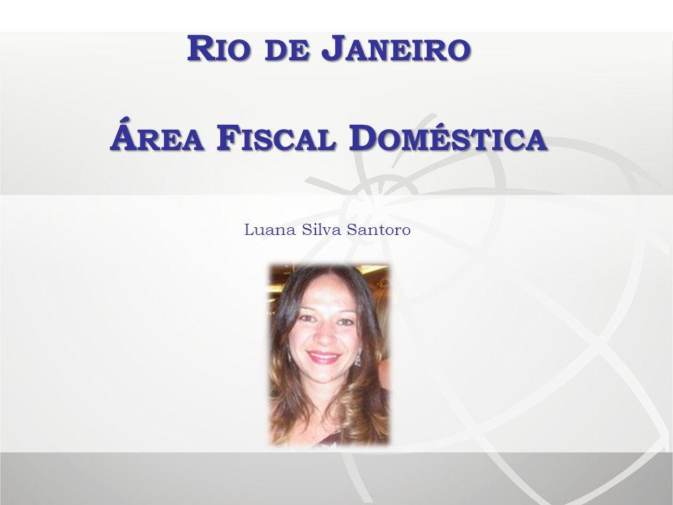 Rio de Janeiro Área Fiscal Doméstica