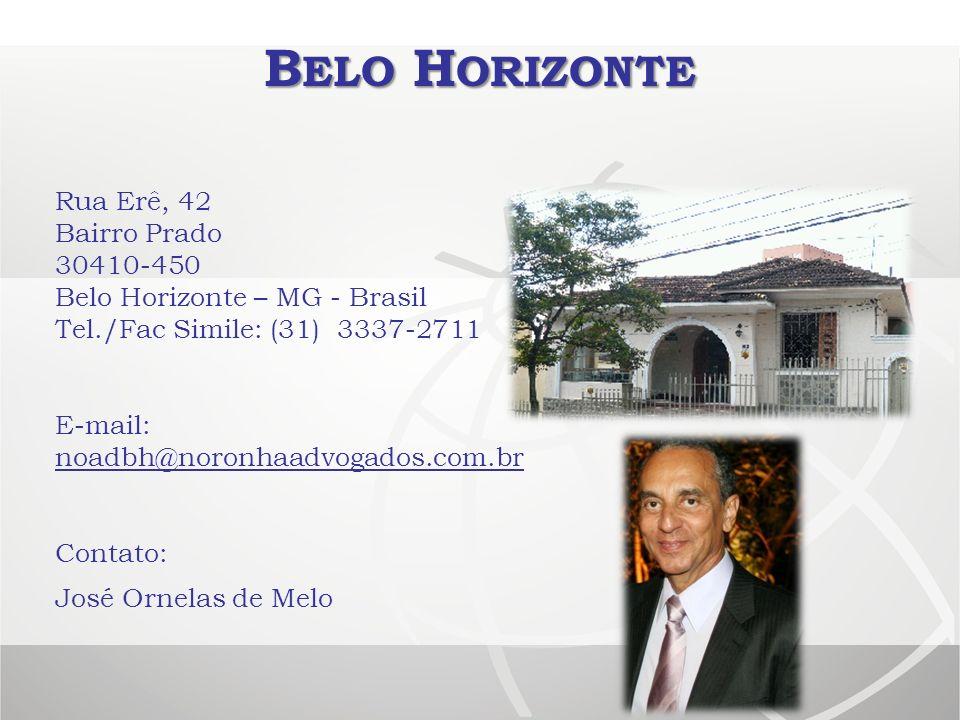 Belo Horizonte Rua Erê, 42 Bairro Prado 30410-450