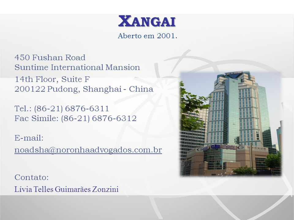 Xangai 450 Fushan Road Suntime International Mansion