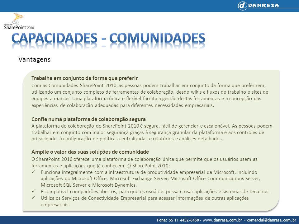 Capacidades - Comunidades