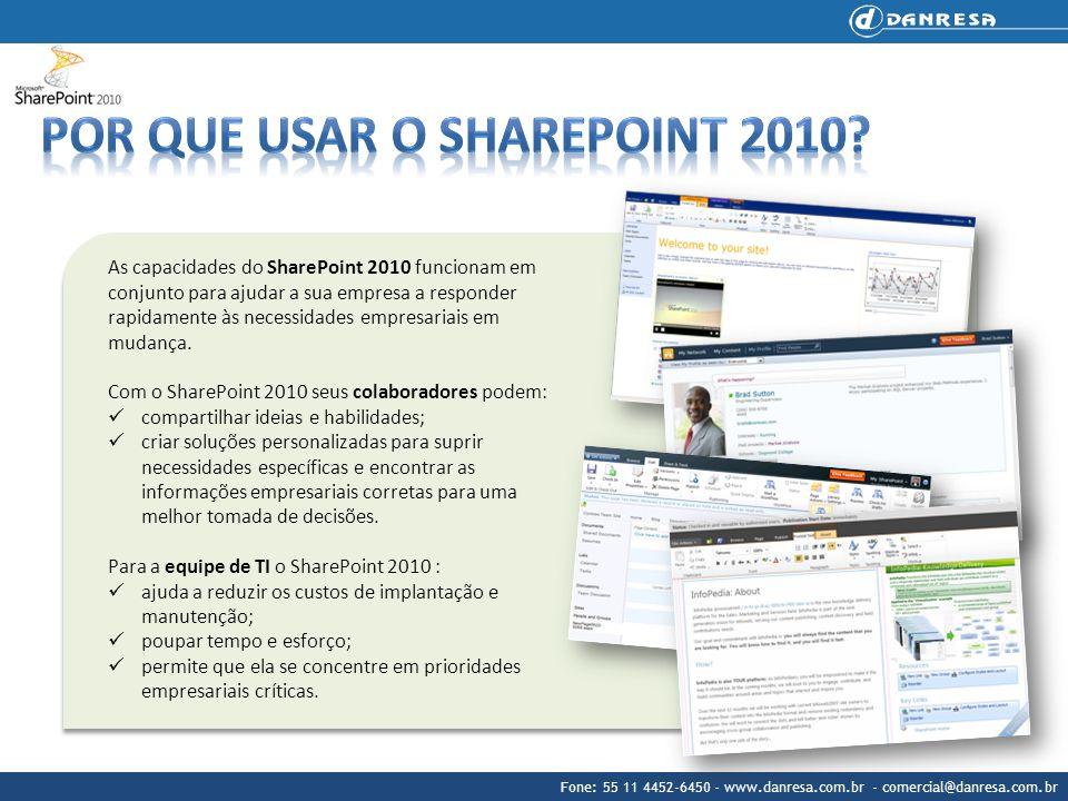 Por que usar o SharePoint 2010