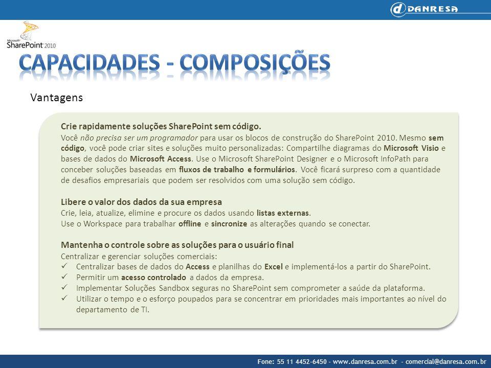 Capacidades - Composições