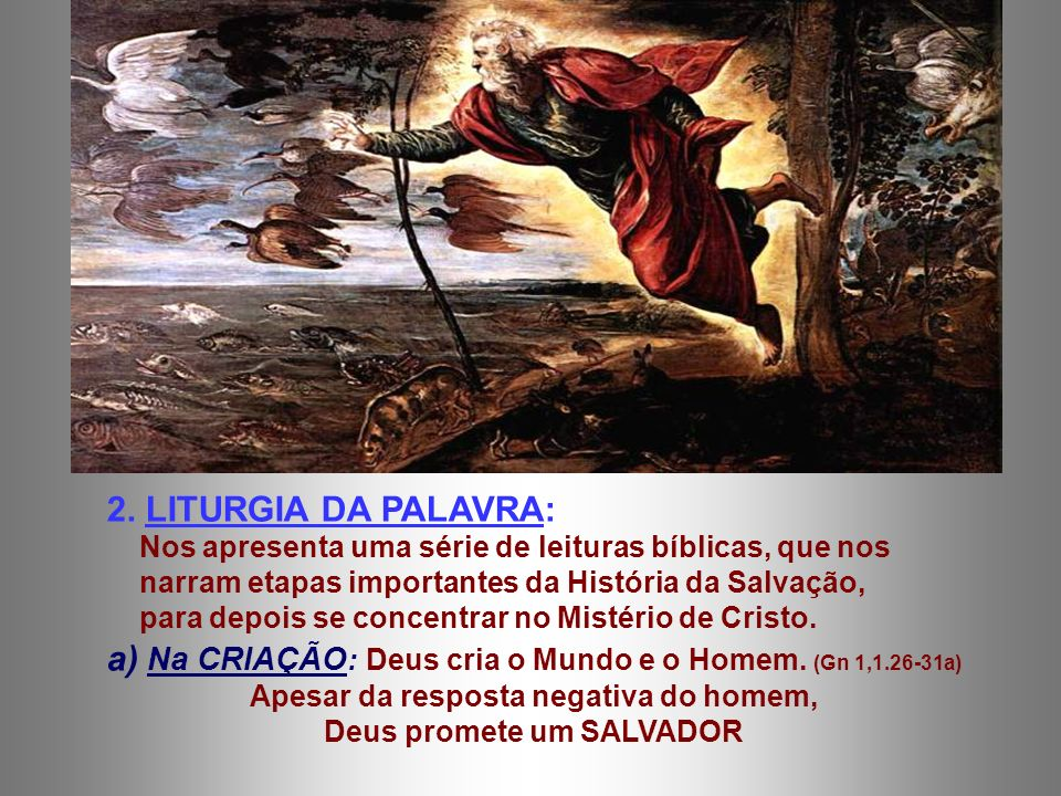 Apesar da resposta negativa do homem, Deus promete um SALVADOR