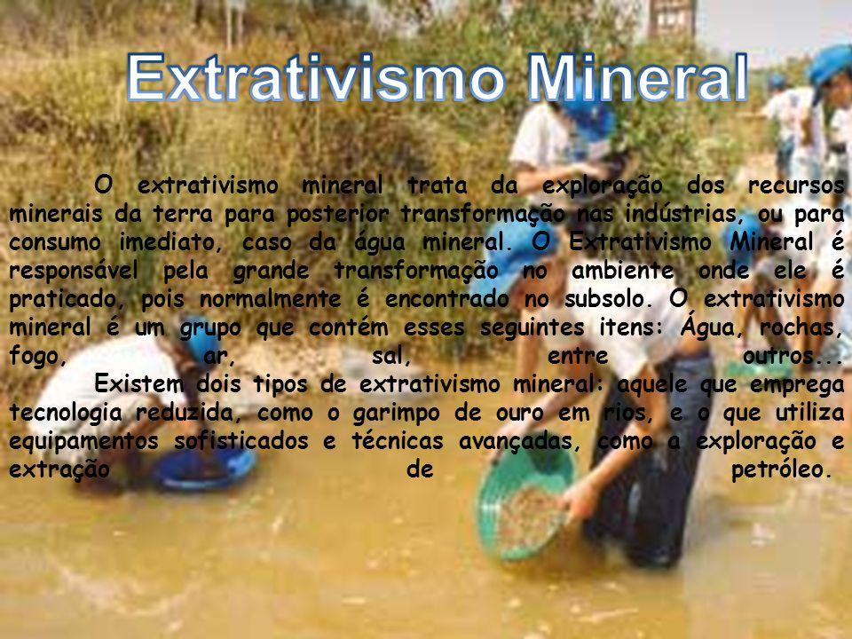 Extrativismo Mineral