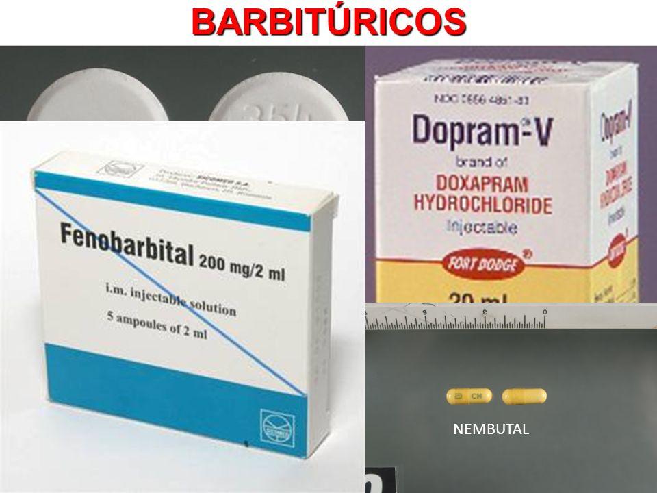 BARBITÚRICOS DORIDEN NEMBUTAL