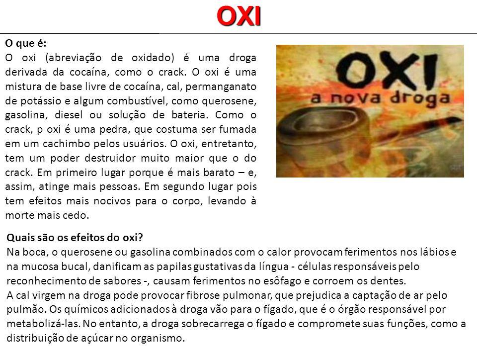 OXI O que é: