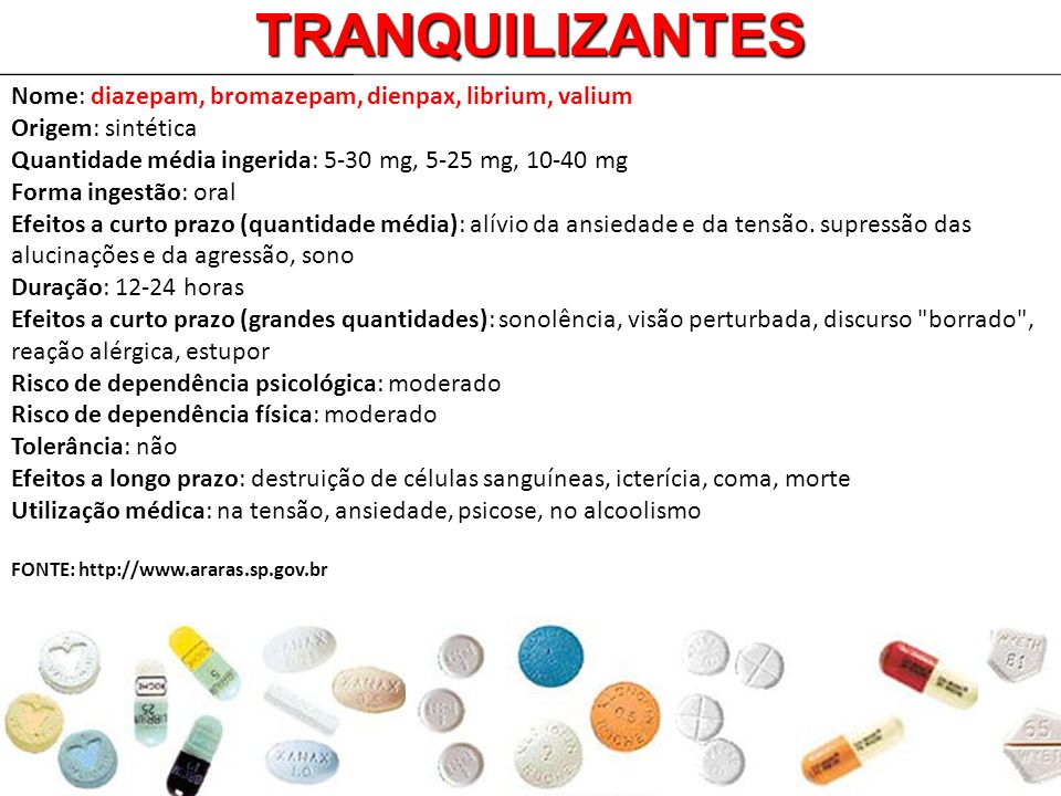 TRANQUILIZANTES