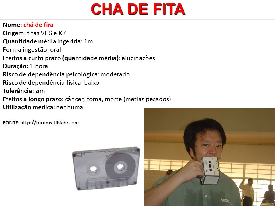 CHA DE FITA