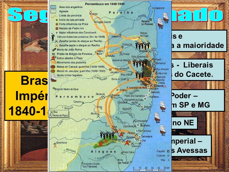 Brasil Império 1840-1889 Segundo Reinado Acordo entre liberais e