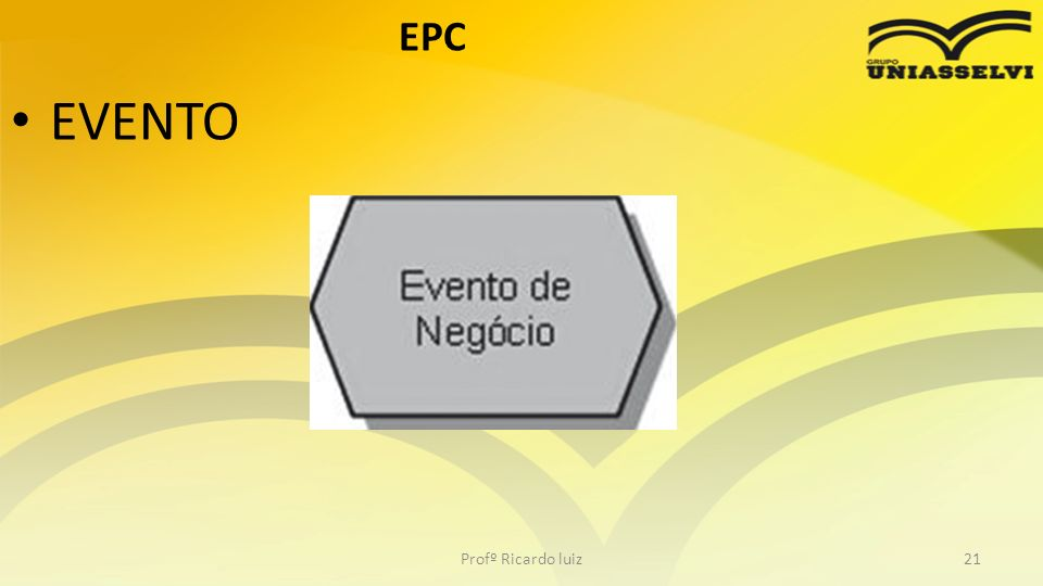 EPC EVENTO Profº Ricardo luiz