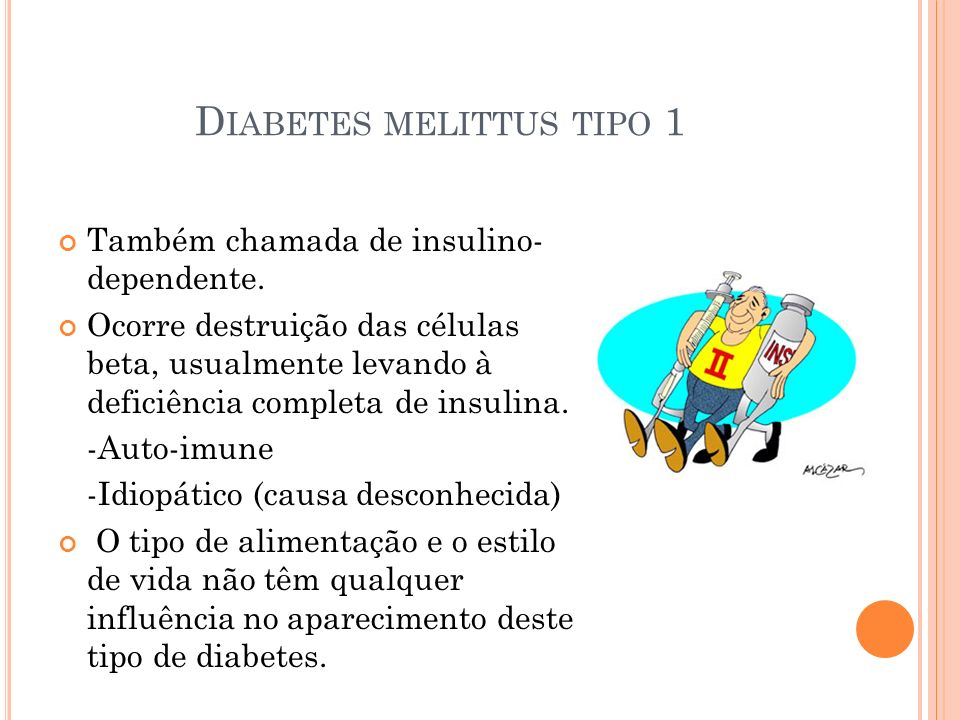 Diabetes melittus tipo 1