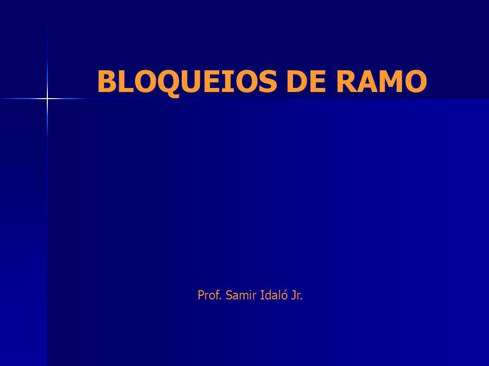 BLOQUEIOS DE RAMO Prof. Samir Idaló Jr.