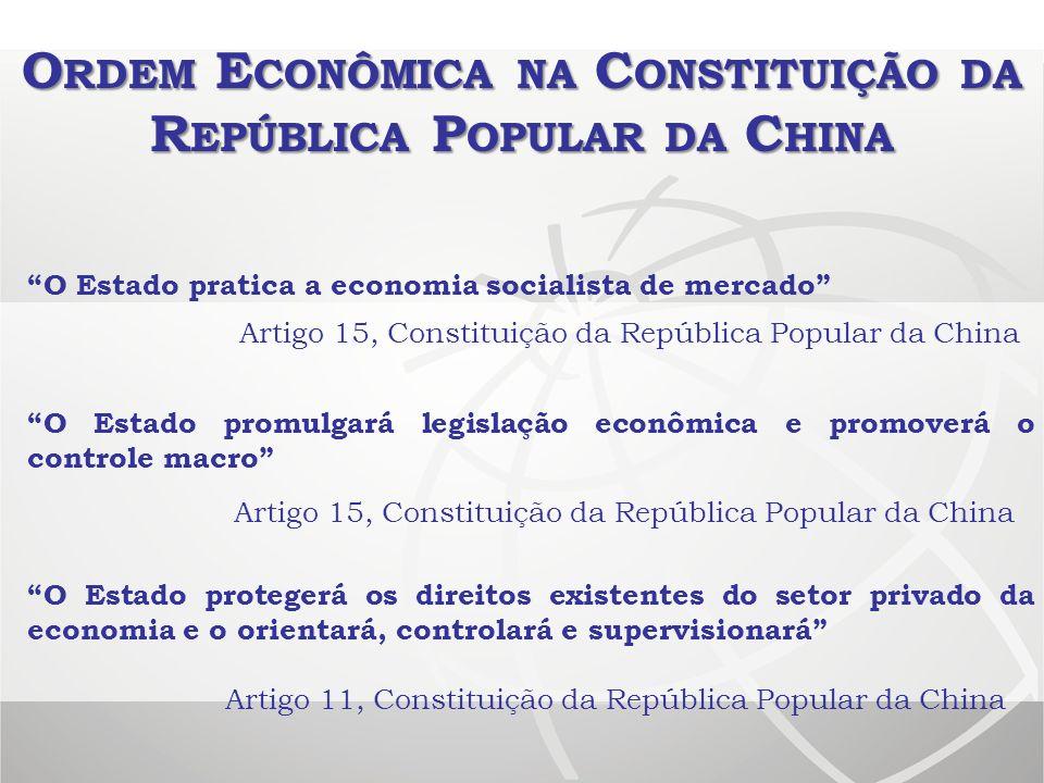 Ordem Econômica na Constituição da República Popular da China