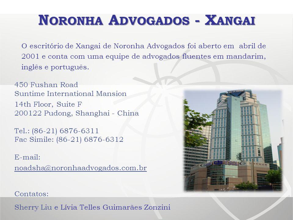 Noronha Advogados - Xangai