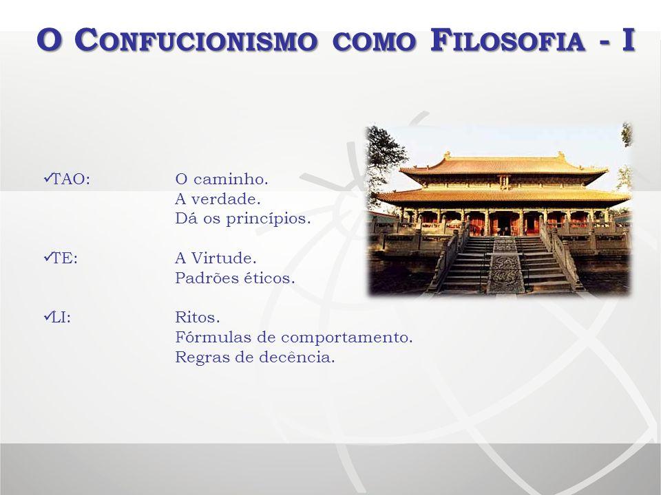 O Confucionismo como Filosofia - I