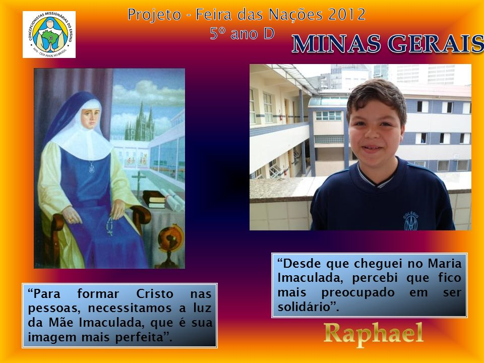 Projeto - Feira das Nações 2012