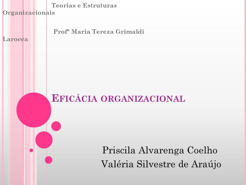 Eficácia organizacional