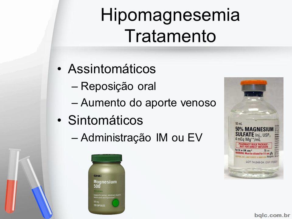 Hipomagnesemia Tratamento