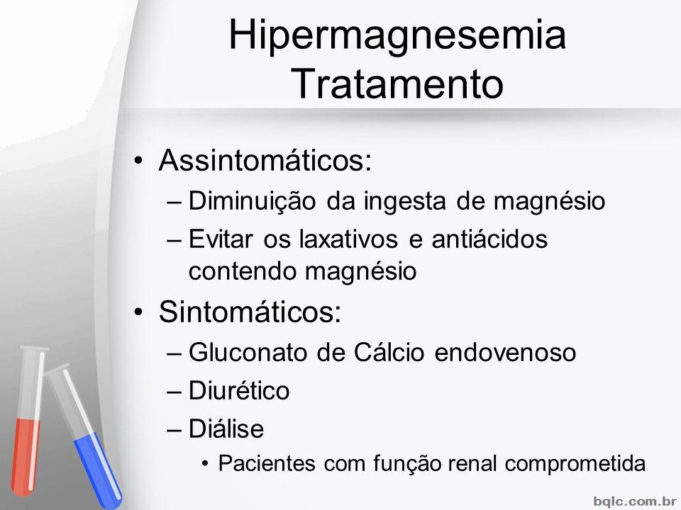 Hipermagnesemia Tratamento