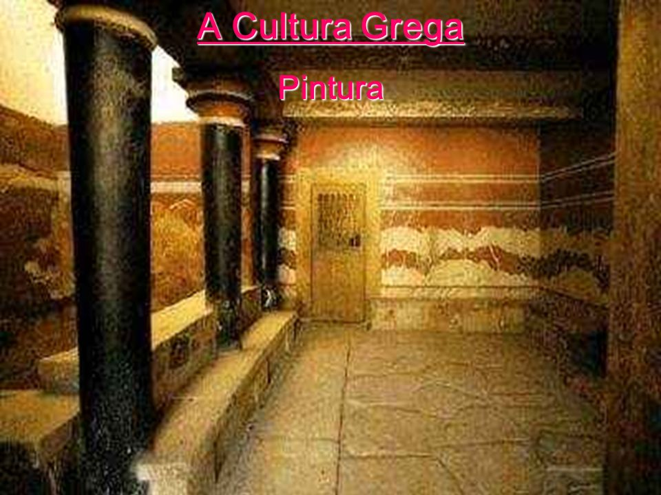 A Cultura Grega Pintura