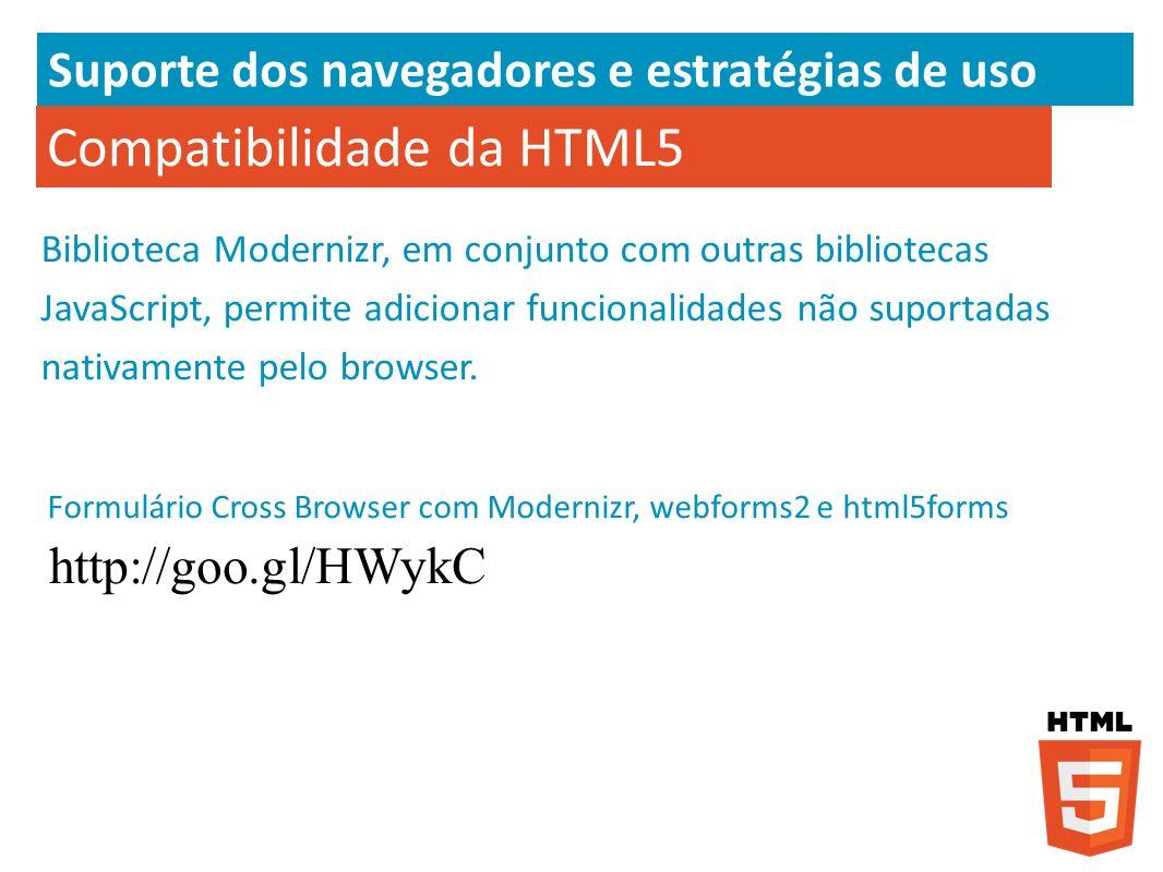 Compatibilidade da HTML5