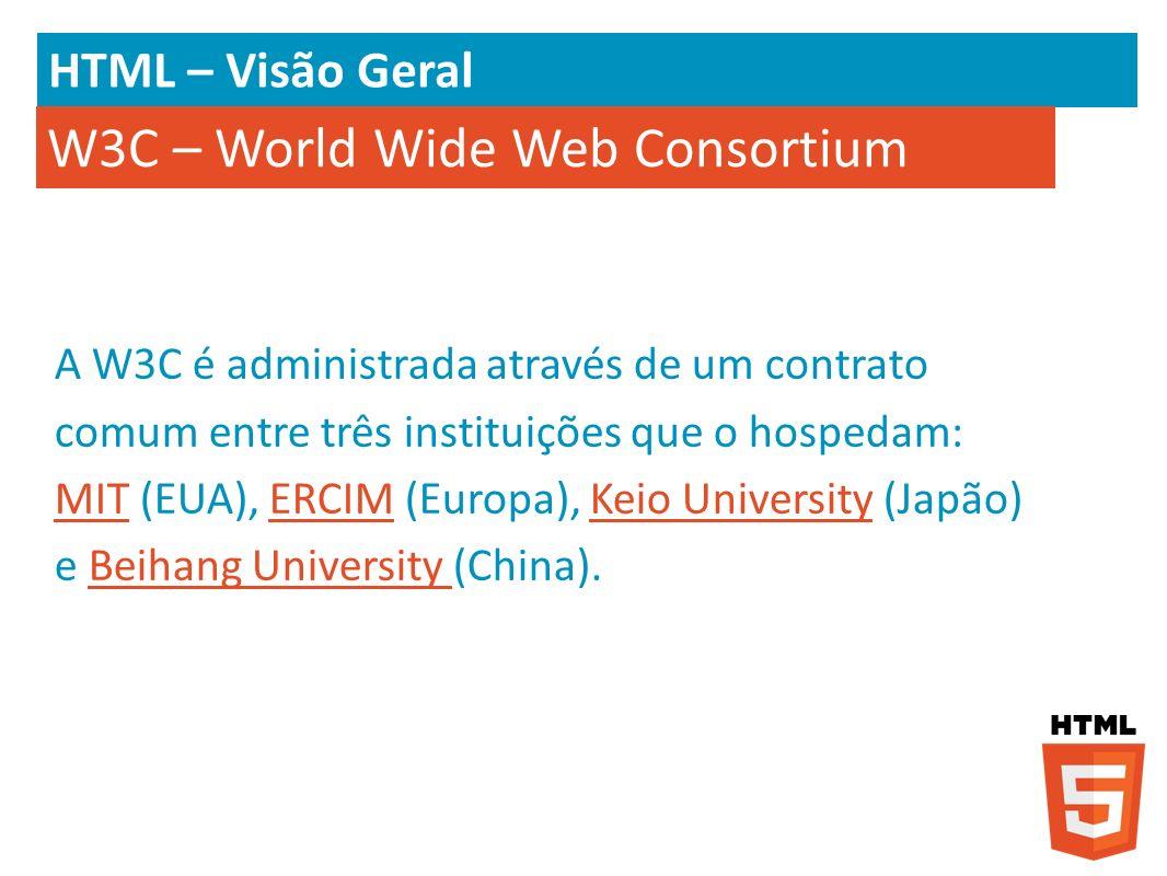 W3C – World Wide Web Consortium