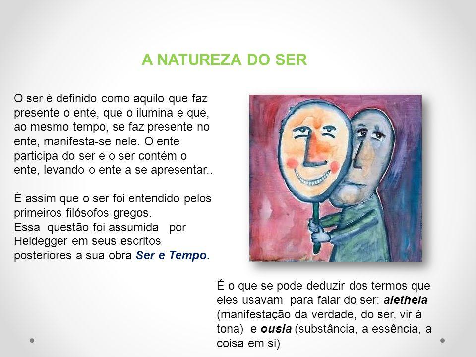 A NATUREZA DO SER