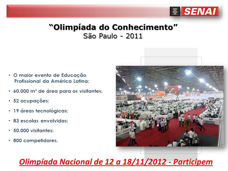 Olimpíada Nacional de 12 a 18/11/2012 - Participem
