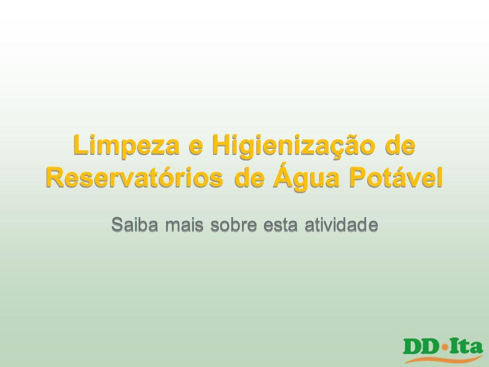 Limpeza e Higienização de Reservatórios de Água Potável
