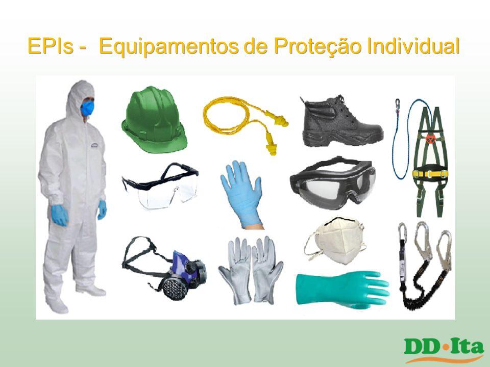 EPIs - Equipamentos de Proteção Individual