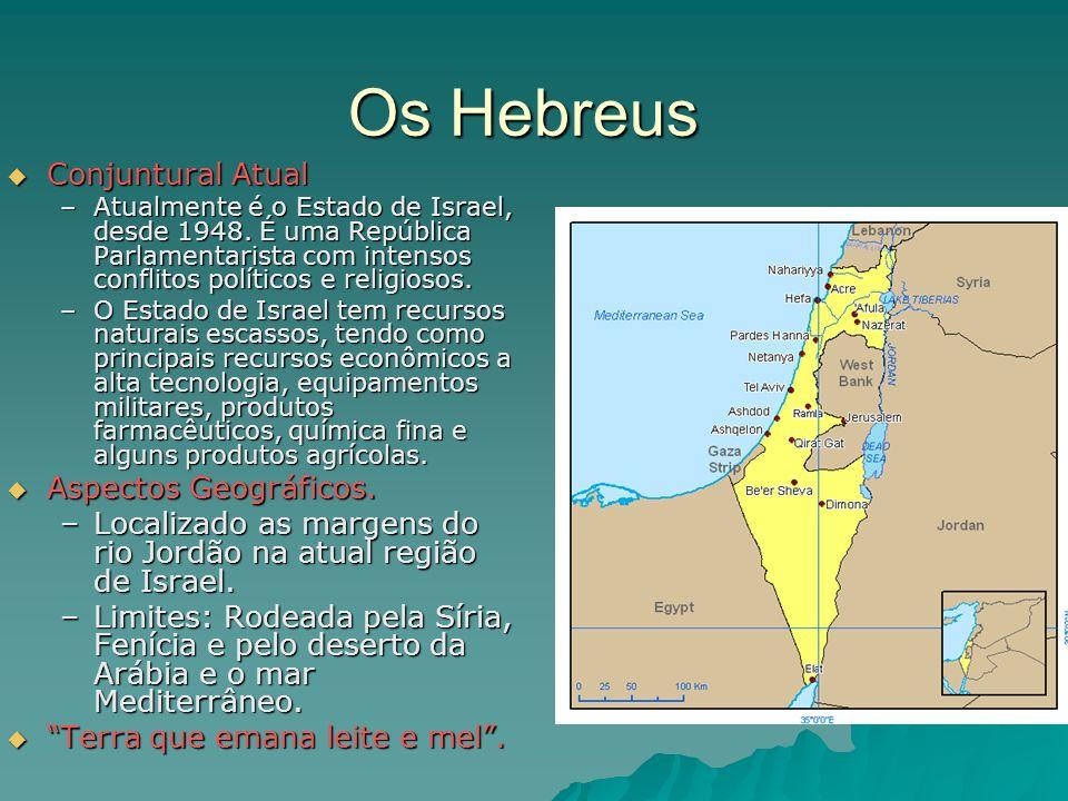Os Hebreus Conjuntural Atual Aspectos Geográficos.