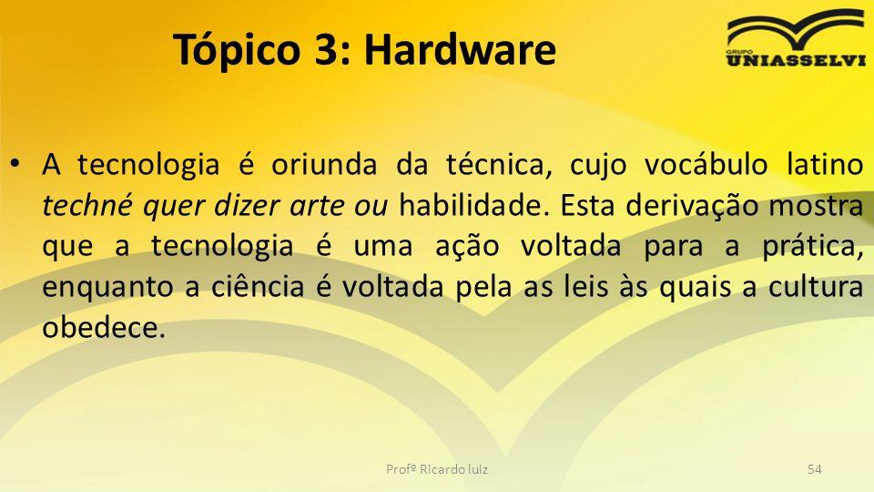 Tópico 3: Hardware
