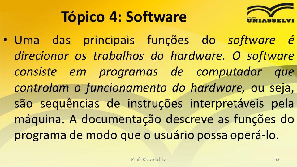 Tópico 4: Software