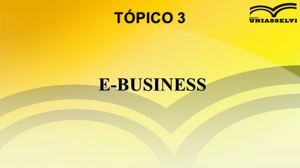 TÓPICO 3 E-BUSINESS