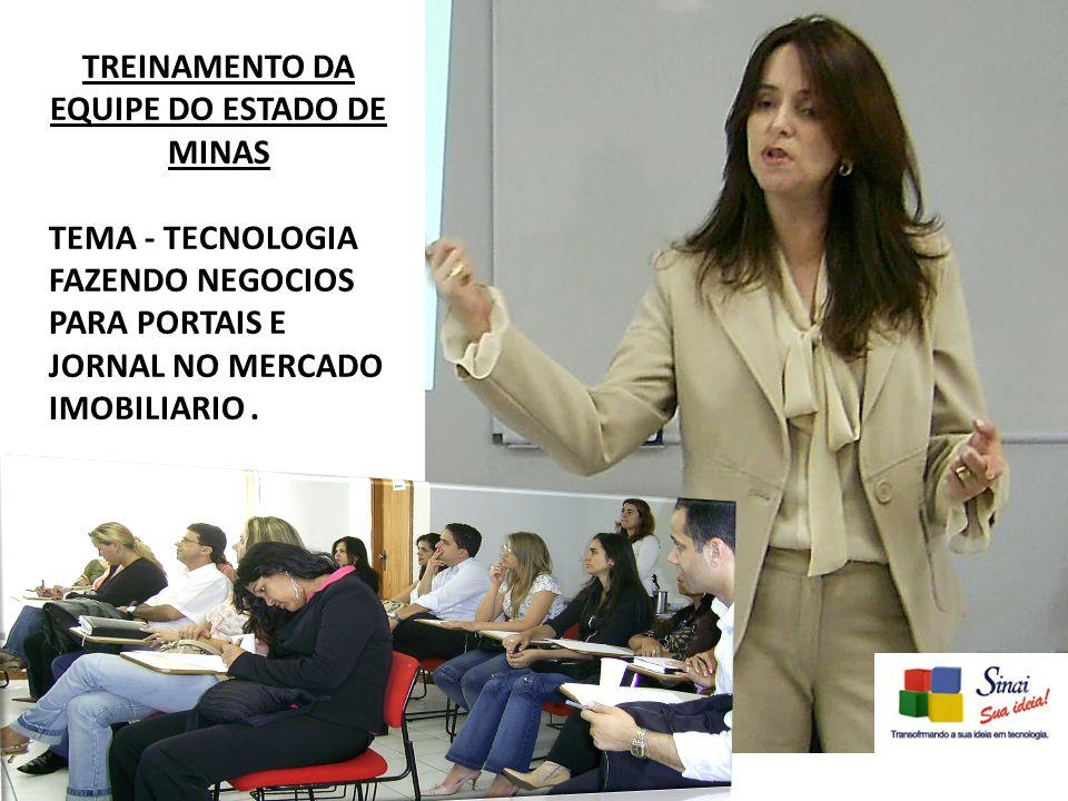 TREINAMENTO DA EQUIPE DO ESTADO DE MINAS