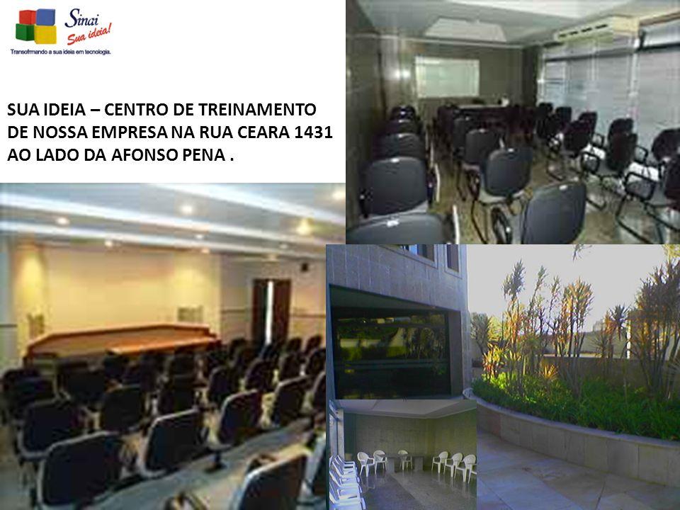 SUA IDEIA – CENTRO DE TREINAMENTO