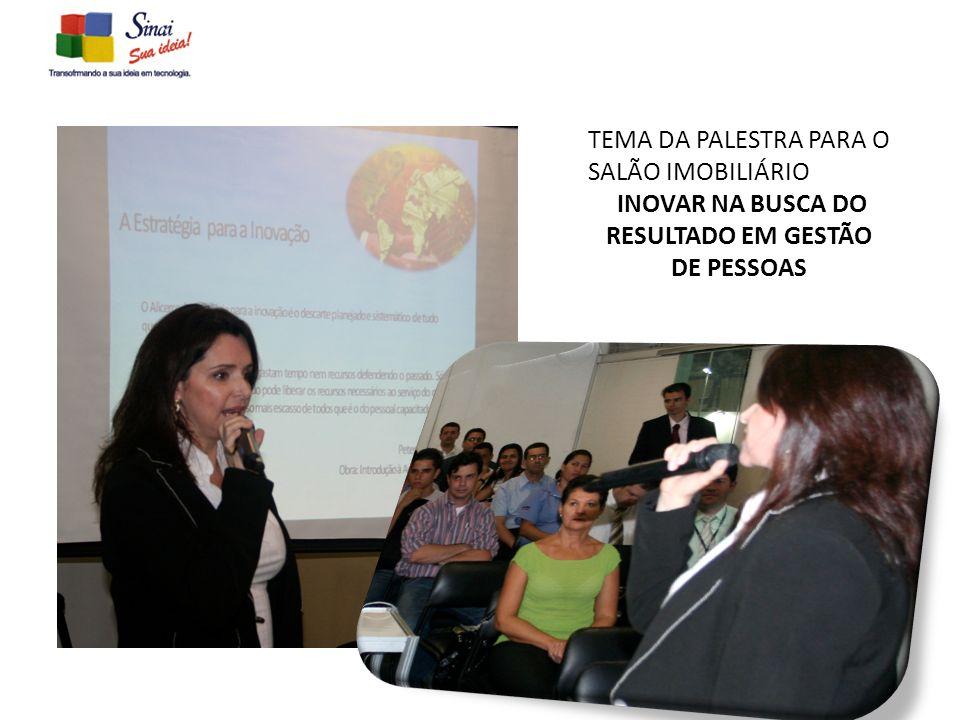 INOVAR NA BUSCA DO RESULTADO EM GESTÃO DE PESSOAS