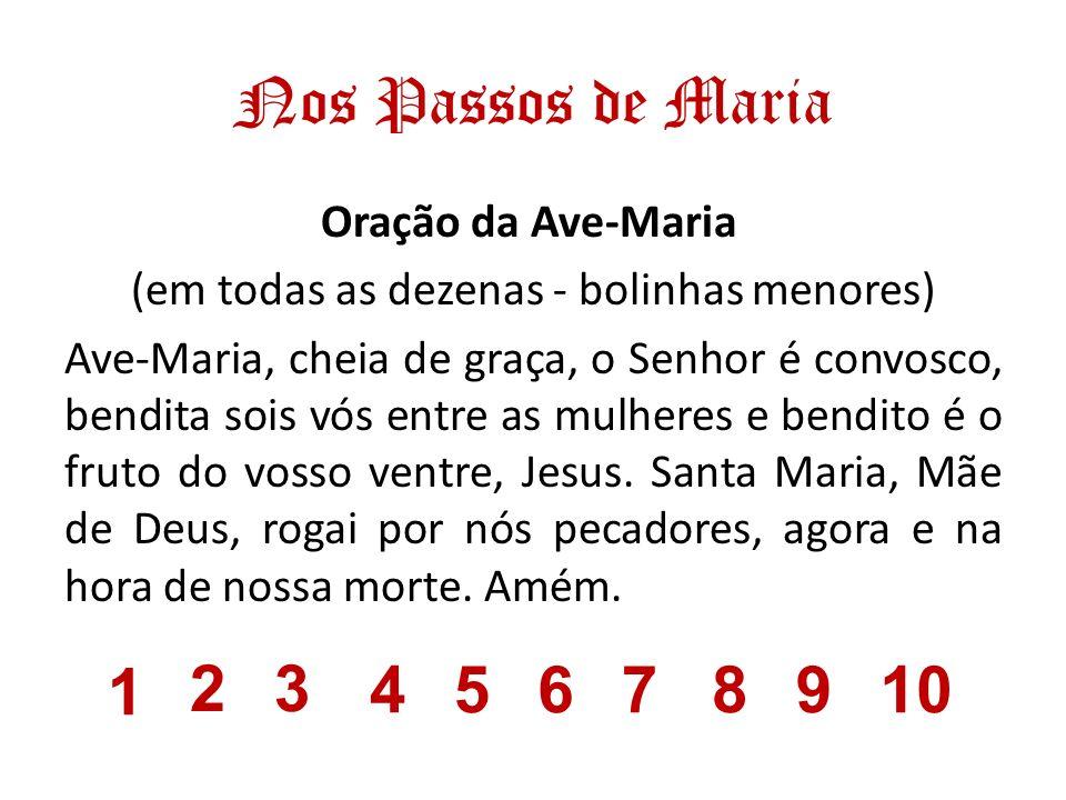 Nos Passos de Maria