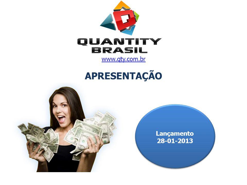www.qty.com.br APRESENTAÇÃO Lançamento 28-01-2013