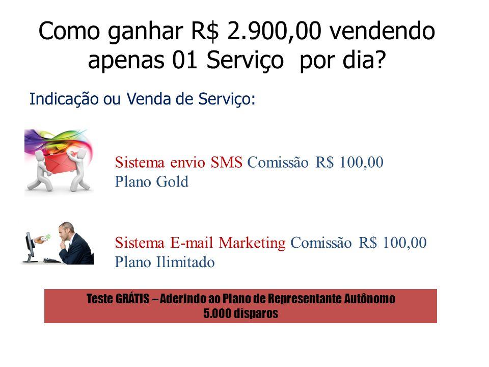 Como ganhar R$ 2.900,00 vendendo apenas 01 Serviço por dia