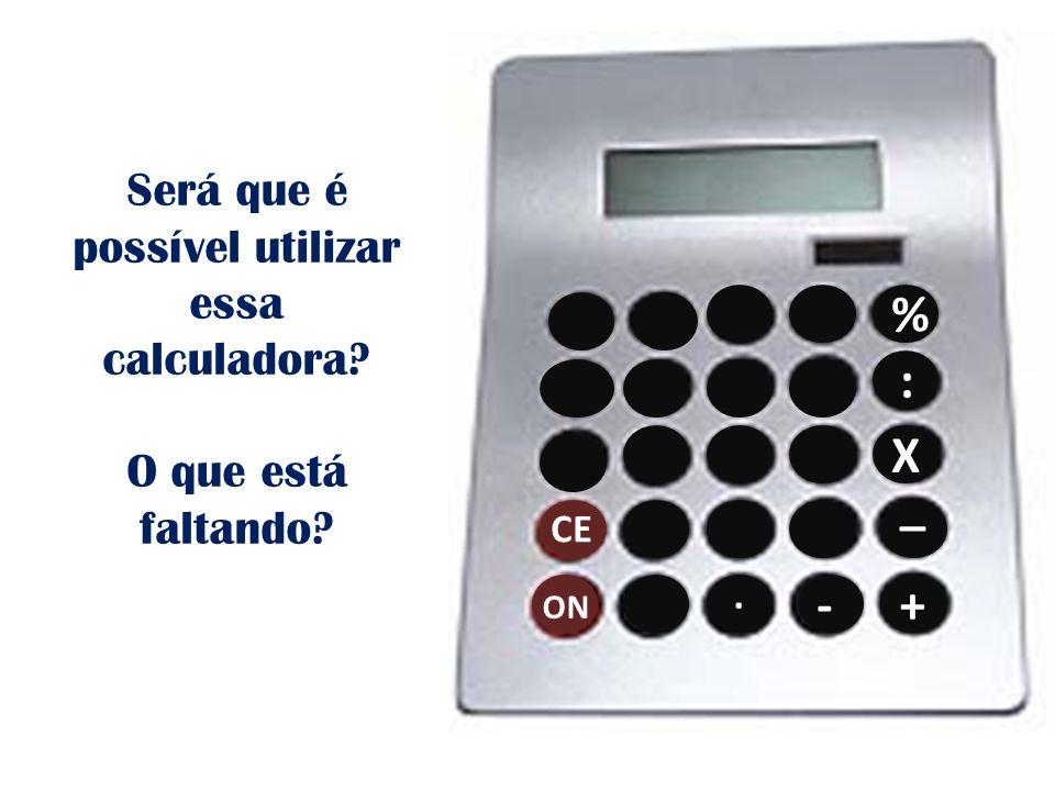 Será que é possível utilizar essa calculadora