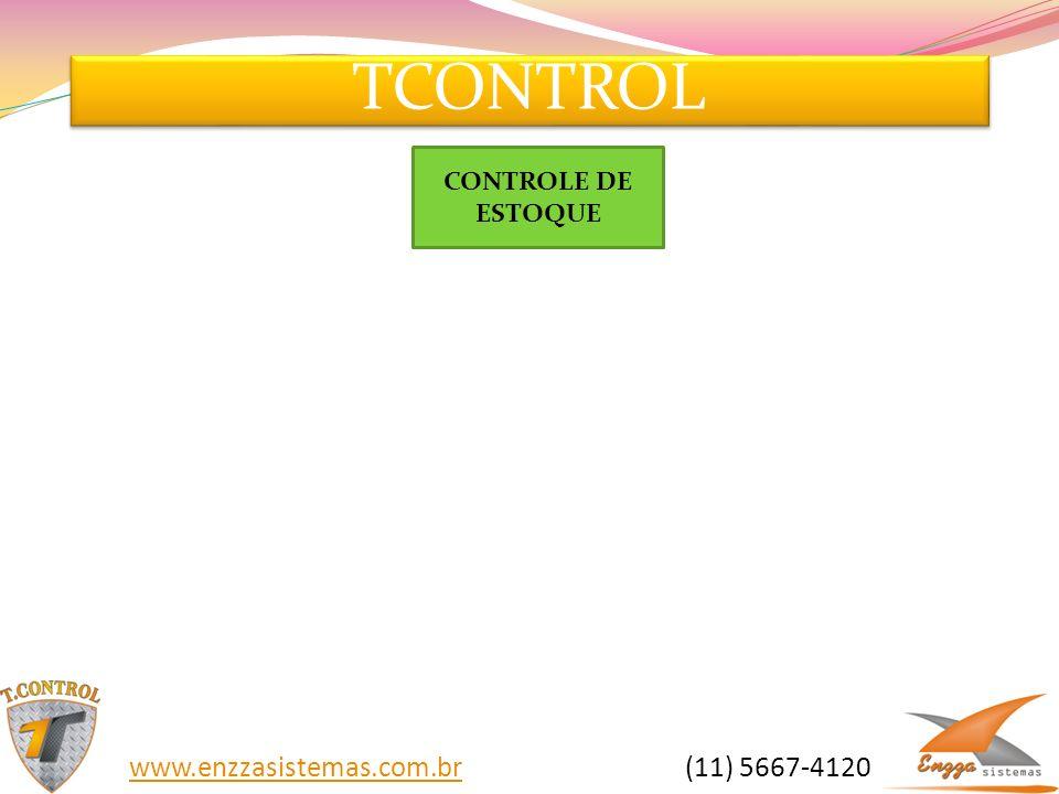 TCONTROL CONTROLE DE ESTOQUE.
