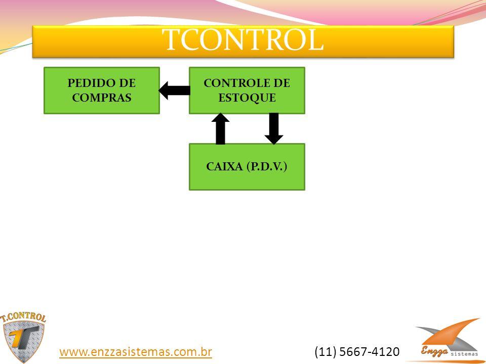 TCONTROL www.enzzasistemas.com.br (11) 5667-4120 PEDIDO DE COMPRAS