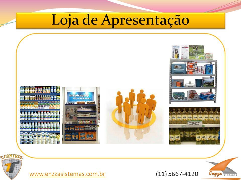 Loja de Apresentação www.enzzasistemas.com.br (11) 5667-4120