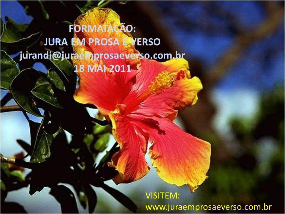 FORMATAÇÃO: JURA EM PROSA E VERSO jurandi@juraemprosaeverso.com.br