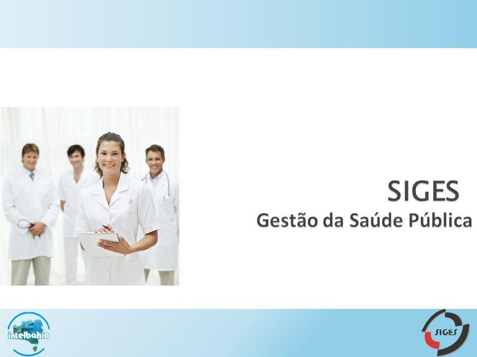 SIGES Gestão da Saúde Pública