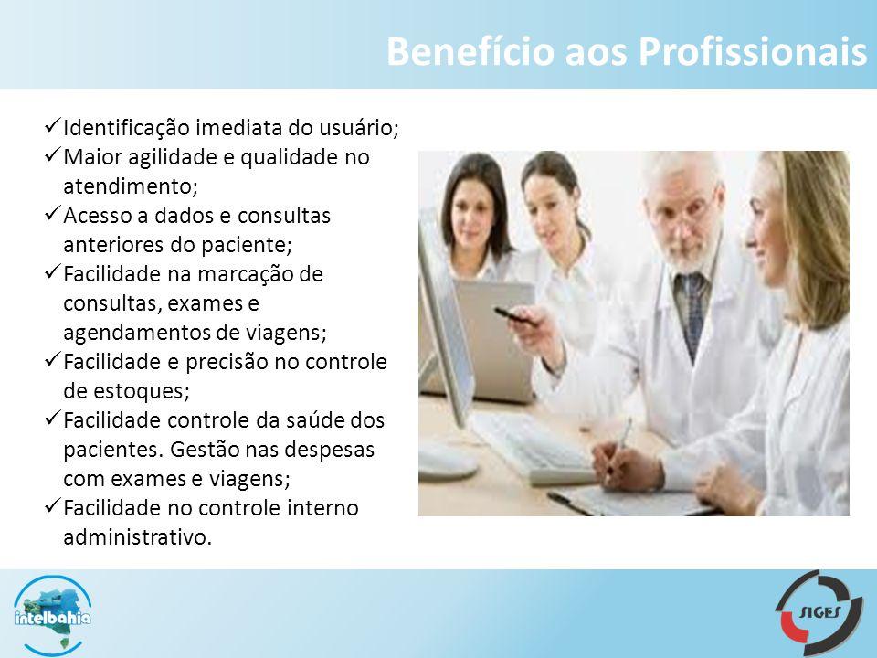 Benefício aos Profissionais