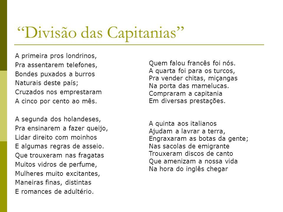 Divisão das Capitanias