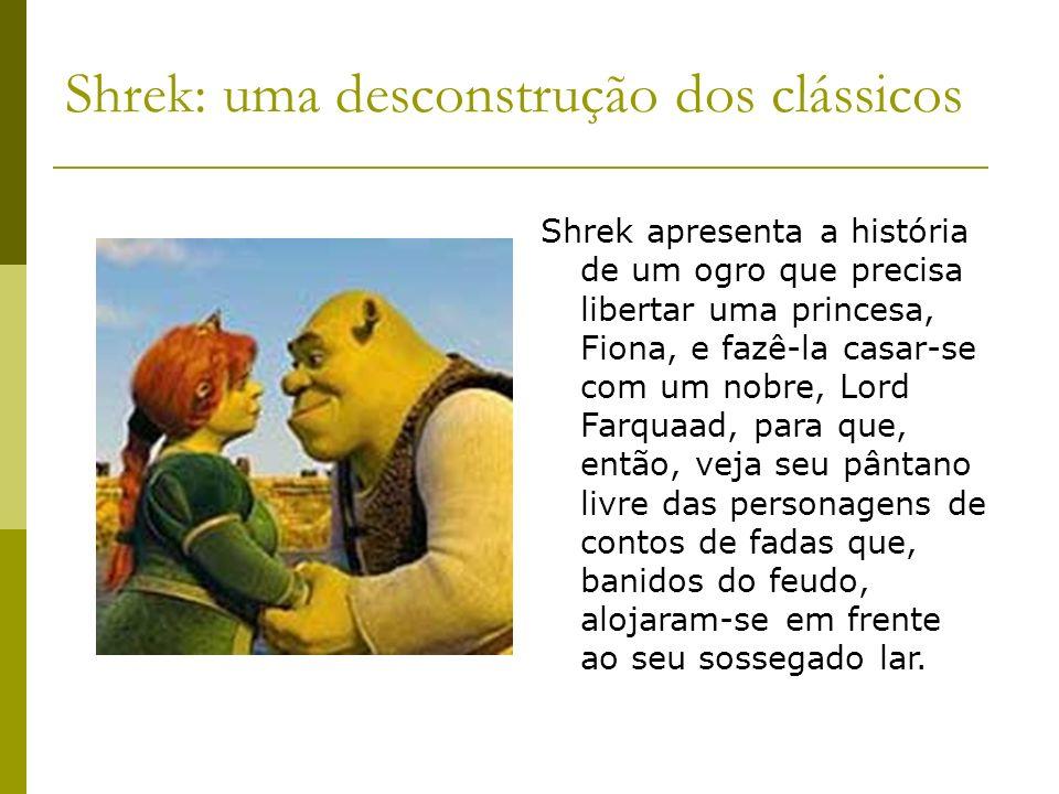 Shrek: uma desconstrução dos clássicos